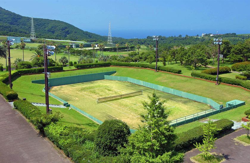 センターテニスコート|鹿屋体育...