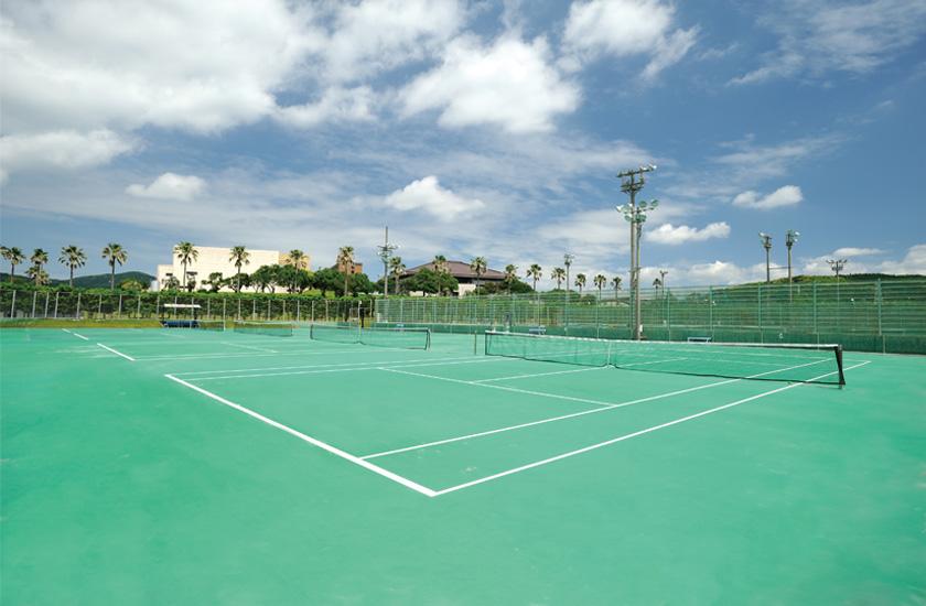 テニスコート|鹿屋体育大学